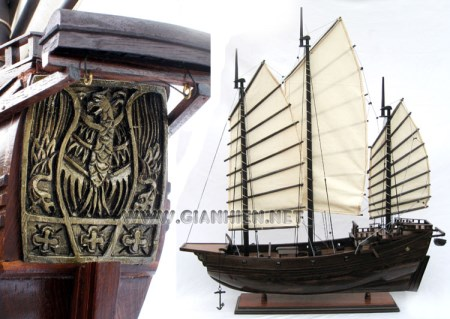 Chinese Junk Ship Model