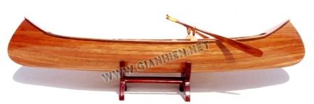 Indian Girl Canoe Model