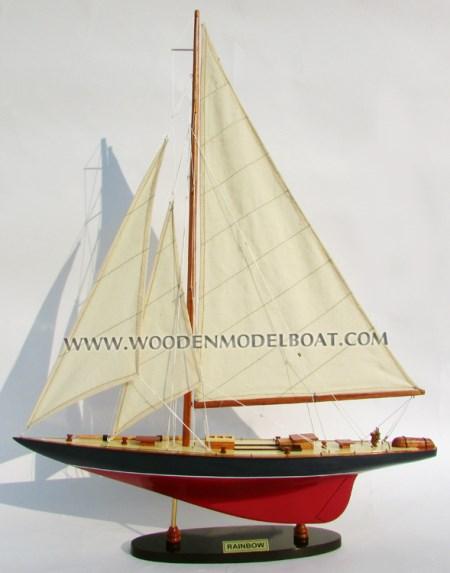 Rainbow Boat Model