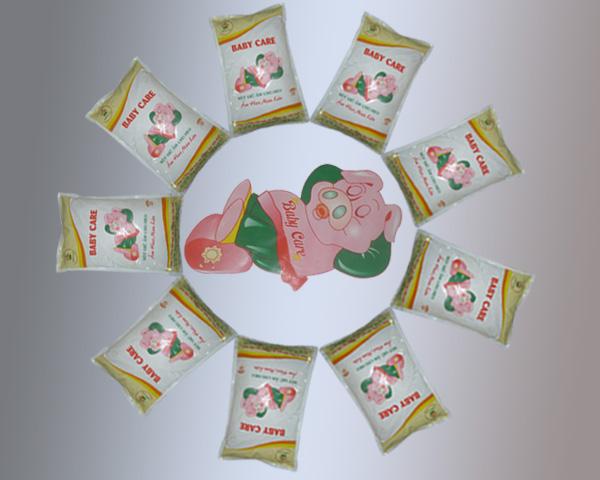 Moisturizing powder for pig