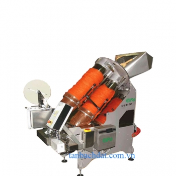 Ultrasound bagging machine for net bags