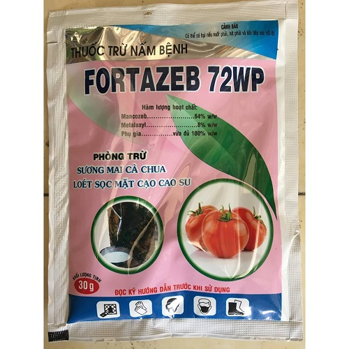 Fortazeb 72WP Disease Drugs