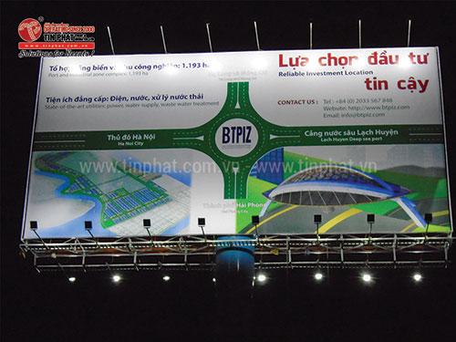 Contruction of billboard