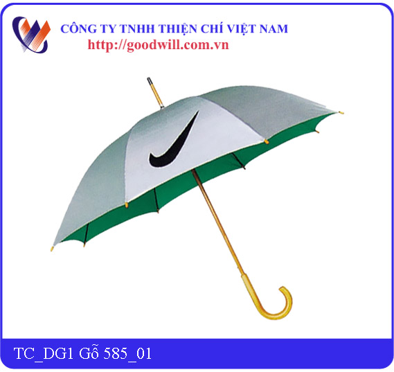 Wooden hand umbrella