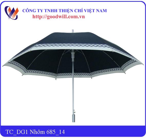 Aluminum hand umbrella