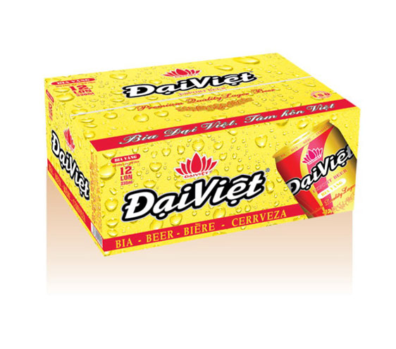 6-color offset printing beer box