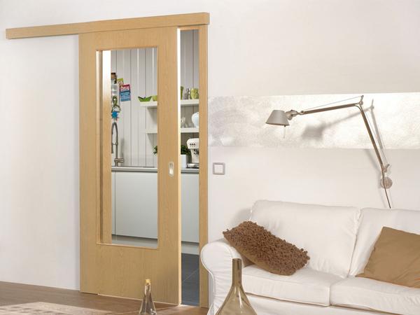 Industrial laminate wood door