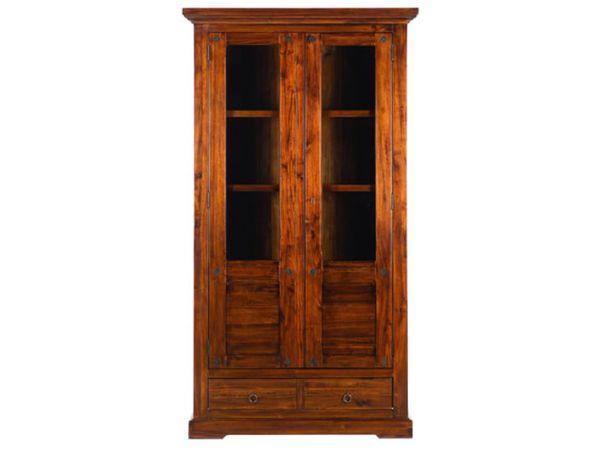Glass door bookshelf Pradesk