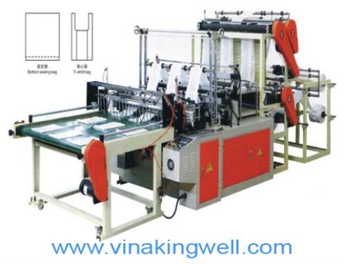 3-line bag cutting machine