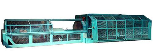 Plastic pipe extrusion machine