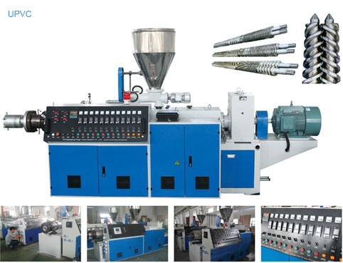 UPVC pipe extrusion machine