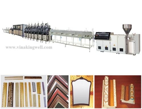 PS plastic sheet extrusion machine