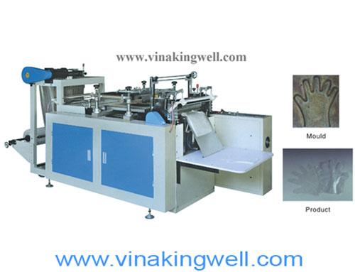 Nylon gloves making machine