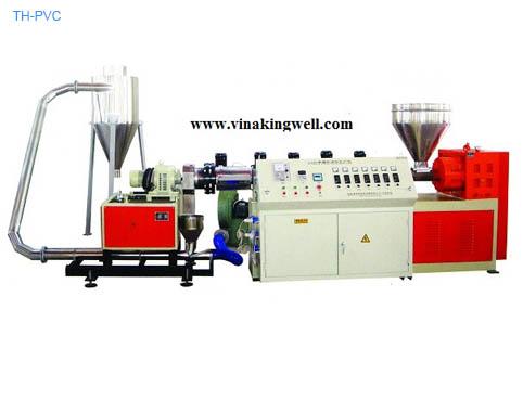 PVC plastic granulator machine