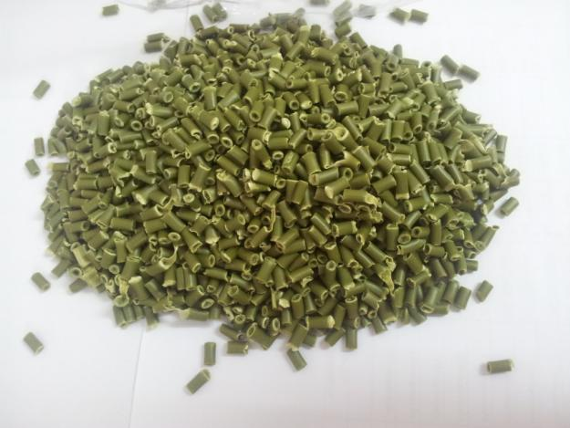 Recycled plastic pellet