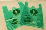 Biodegradable plastic bag