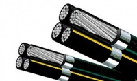 Twisted aluminum cable
