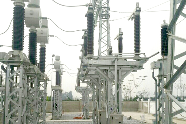 Thuong Tin electrical substation