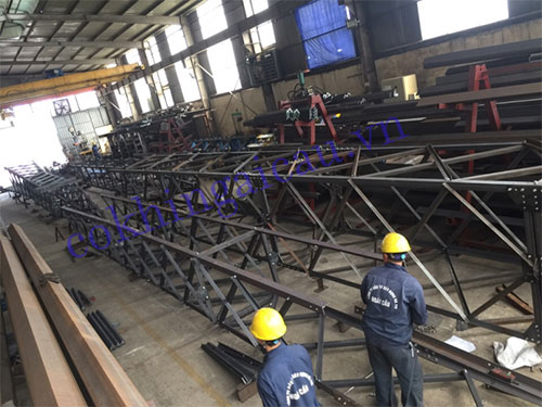 Construction of Bac Ninh steel pole