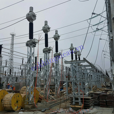 Quoc Oai electrical substation