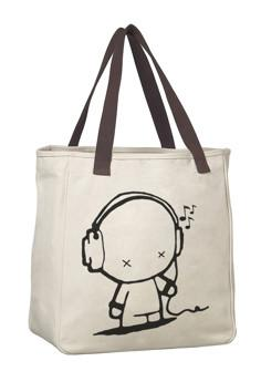 Burlap, canvas bag