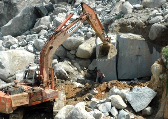 Quarrying