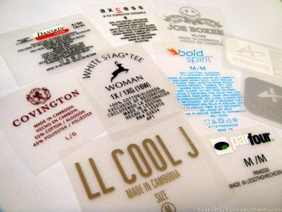 Heat-transfer label