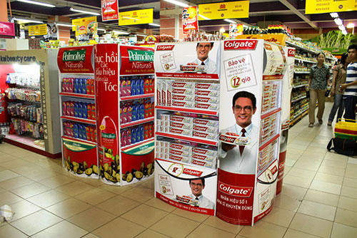 Large-size advertising printing
