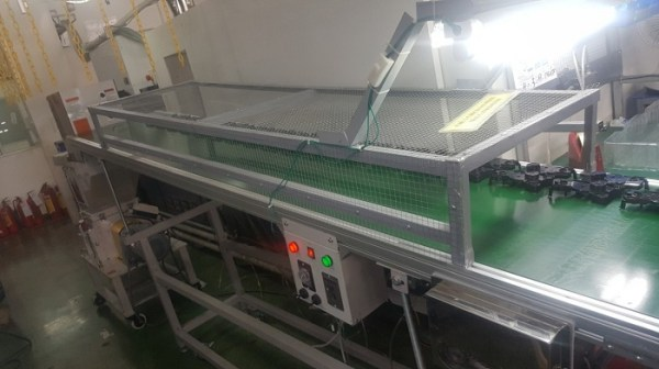 Plastic Conveyor Belts Structure