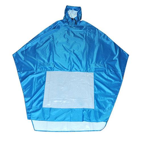 Bat-wing raincoat