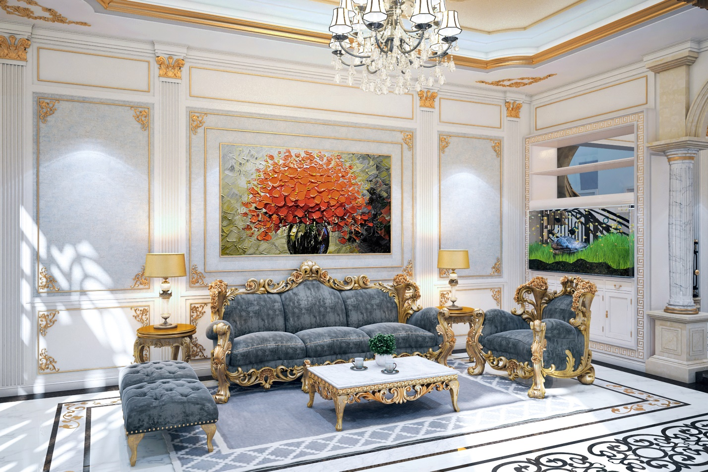 Classical interior style