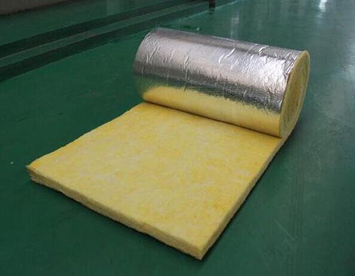 Glass wood roll aluminum foil