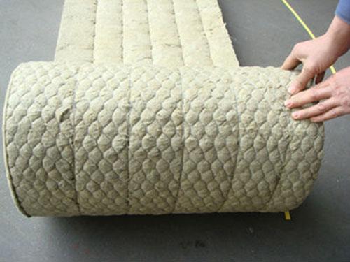 Rock wool blanket