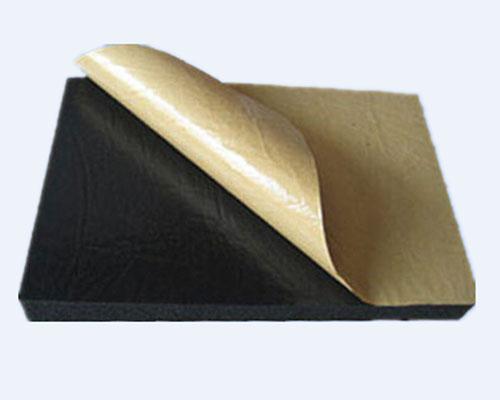 Self adhensive rubber foam