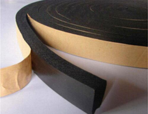 Rubber foam tape