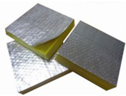 Glass wood foil clad