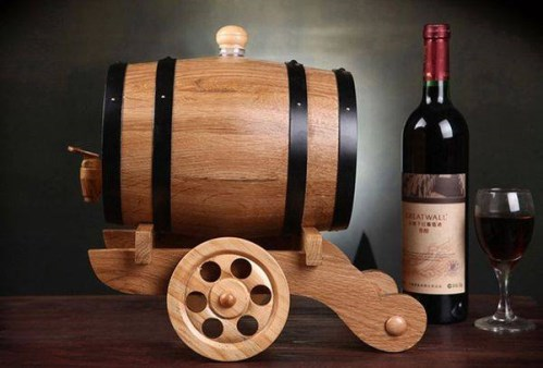Wine Barrel Wood
