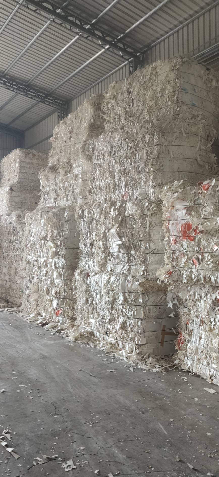 Poly cups stock paper