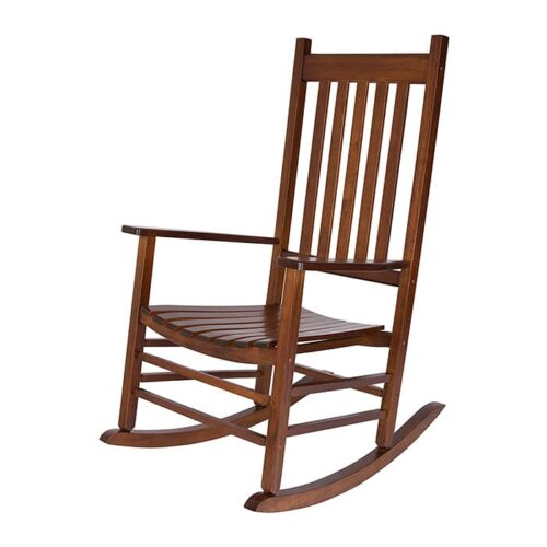 Outdoor Acacia rocking chair